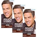 3 x Just For Men Touch of Grey Dark Brown/Grey (T-45)