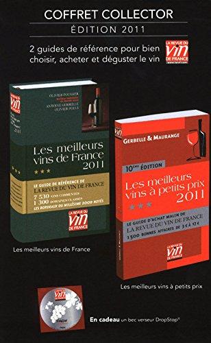 Les meilleurs vins de France ; Les meilleurs vins à petits prix Coffret collector : 2 guides de référence pour bien choisir, acheter et déguster le vin