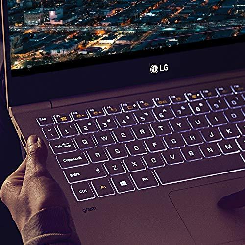 "LG Gram Laptop - 15.6"" Full HD Touchscreen, Intel 8th Gen Core i7, 16GB RAM, 256GB, 18.5 HRs Battery, USB Kind-C, - 15Z990-A.AAS7U1 (2019), Dark Silver Image 3"