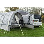 OLPRO Outdoor Leisure Products Cocoon Extension 3.5m x 1.8m Inflatable Drive Away Campervan Awning Porch Extension for Cocoon Breeze Sage Green & Chalk 9