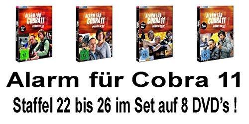 Alarm für Cobra 11 - Staffel 22-26 (8 DVDs)