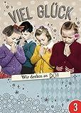 3er-Pack: Postkarte A6 +++ LUSTIG von modern times +++ WIR DENKEN AN DICH SILBER +++ BK.EDITION Pigment Productions Ltd