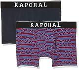 Kaporal QUEVA, Boxer Homme, Multicolore Neored, Taille Fabricant: S (Lot de 2)