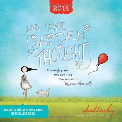2014 In the Garden of Thoughts wall calendar by Dodinsky (2013-07-01)