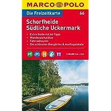 MARCO POLO Freizeitkarte Schorfheide, Südliche Uckermark 1:100.000