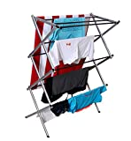 #7: Magna Homewares® Accordion Basic Cloth Drying Stand