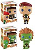 Funko POP! Street Fighter: Cammy + Blanka - Video Game Vinyl Figure Set NEW