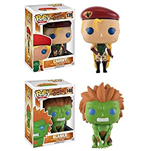 Funko Pop Cammy + Blanka (Street Fighter) Funko Pop Street Fighter