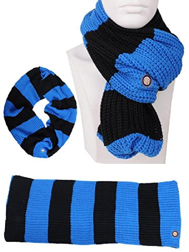 Bufanda Anillo Negro Azul Inter ropa oficial Internacional * 01797