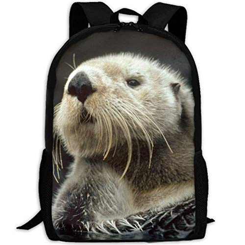 Otter-laptop-tasche (fsfsdafsa Sea Otters Bookbags School Sac à DOS de Voyage Laptop Schoolbag for Teens Girls Boys High School)