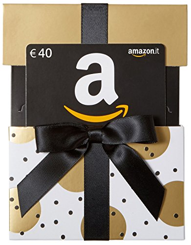 Buono Regalo Amazon.it - €40 (Busta di Natale d'Oro)
