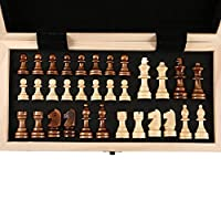 Features:Checkerboard material: solid wood, can be folded ; chessman material: with a non-slip mat.Checkerboard size: folding 53*26.5*8cm, expanding size: 53*53*4cm, checkerboard grid size: 5.8*5.8cmSuitable for: Decoration/Home Furnishings/Gifts/Col...