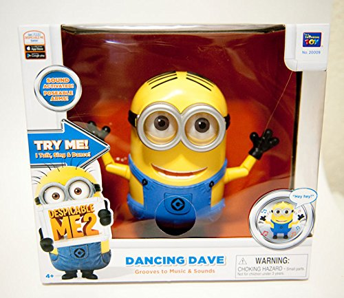 Despicable Me 2 Minion Dave Dancing Action Figure 3