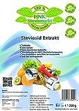 Stevia Extrakt Pulver - zahnfreundlicher und gesunder Zuckerersatz - gesunde Küche zum Kochen und Backen - sehr ergiebig auch für Diabetiker (1 x 250g)