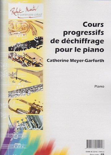 Cours progressif de déchiffrage pour le piano -Piano (Partition) par arforth