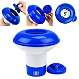 Woopower piscina Chemical dispenser Storage Case Floating disinfettare Floater galla tablet (bromo e cloro) Pill Holder auto-supplier Paddling