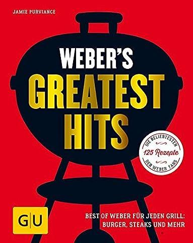 Weber's Greatest Hits: Die besten Rezepte, Storys und Fotos aus 60 Jahren Weber (GU Weber's (Rezept Grillen Vegetarisch)
