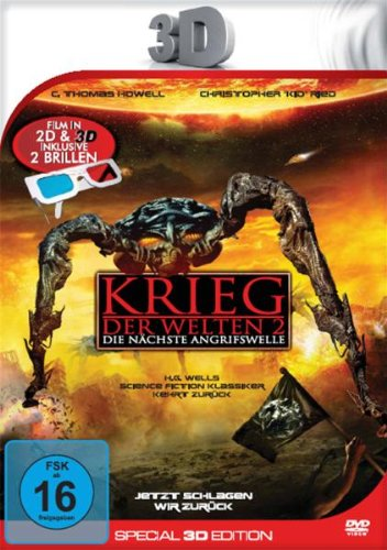 dtp entertainment AG Krieg der Welten 2 (Special 3D Edition inkl. 2 3D-Brillen) [Special Edition]