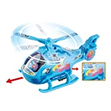 FunBlast Musical Aircraft Toy,Battery Operated Helicopter with Beautiful Attractive Flashing Lights and Realistic