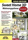 Sweet Home 3D Wohnungsplaner - Premium Edition mit zus�tzlichen 1.100 3D Modelle und gedrucktem Handbuch, ideal f�r die Architektur, Haus und Wohnplaner - f�r Windows 10-8-7-Vista-XP & MAC medium image