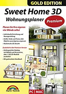 sweet home 3d wohnungsplaner premium edition mit. Black Bedroom Furniture Sets. Home Design Ideas