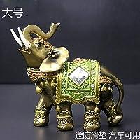 Powzz ornament Regalo Di Nozze: Verde tre Elefante Desktop Soggiorno Armadietto del Vino Regalo Di