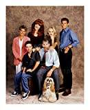 Married With Children (TV) Katey Sagal, Ted McGinley, Amanda Bearse, Christina Applegate, David Faustino, Ed ONeill 10x8