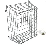 Easipet Front Door Letter Cage or Mail Catcher in White Medium Large Extra Large (Large 608)