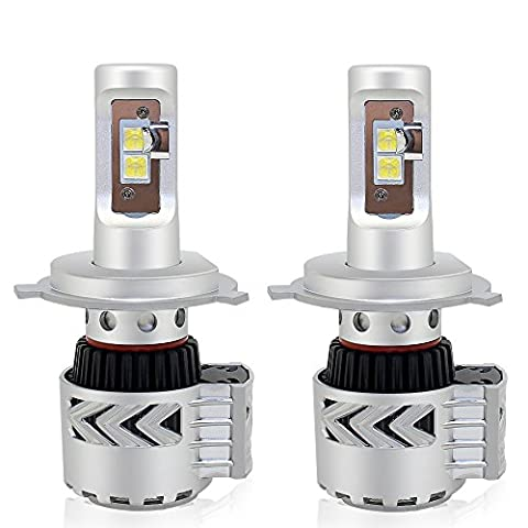H4 LED Headlight Bulb Conversion Kit CREE-XHP50 8000LM 6500K CANBUS Headlamp
