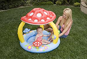 Piscina gonfiabile per bambini da mare o giardino 1 anello - Amazon piscina bambini ...