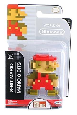 World of Nintendo - Super Mario Brosothers - 6cm Mini-Figur - 8-Bit Mario Figur [UK Import] (Costume World)