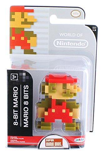 World of Nintendo - Super Mario Brosothers - 6cm Mini-Figur - 8-Bit Mario Figur [UK Import]