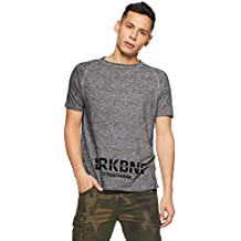 Breakbounce Men's Solid Loose Fit T-Shirt