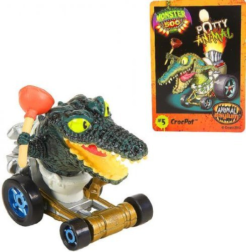 Monster 500 Auto & crocpot-trading Card (Party Monster University Supplies)