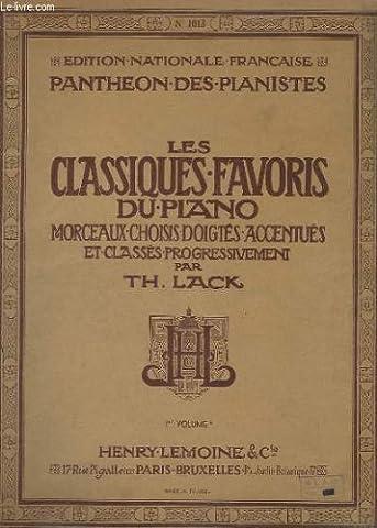 LES CLASSIQUES FAVORIS DU PIANO - VOLUME 1A+ 1B+ 2 + 3.