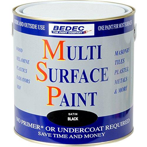bedec-multi-surface-paint-satin-black-25l