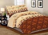 Rayon Casa 100% Cotton Double Bed Sheet-...