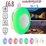 Nachtlicht Bluetooth Lautsprecher, Schlaf Nachtlicht mit Musik tragbarer drahtloser Lautsprecher,bunte Beleuchtungseffekt (Elektronik)