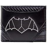 DC Batman Carbon Anzug Stil Schwarz Portemonnaie Geldbörse