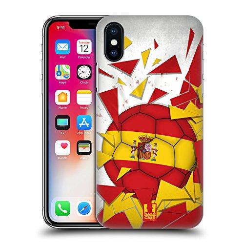 Head Case Designs Algérie Ballon De Football Étui Coque D'Arrière Rigide Pour Apple iPhone 6 / 6s Espagne