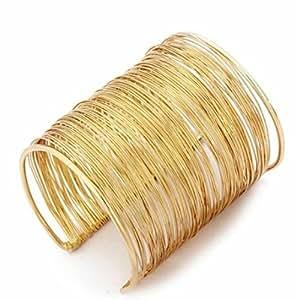 LAMEIDA Bracelet de bague en métal cadeaux simples bijoux pour femme et homme
