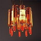Retro schmiedeeisen bar hängelampe industrie wind bar restaurant café Amerikanischen wohnzimmer flasche LU823394 LU9