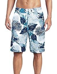 Men's Swimming Trunks Quick Dry Board Shorts Print Swim Shorts