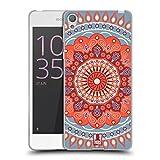 Head Case Designs Cirque De Mandarine Mandala Coque en Gel Doux Compatible avec Sony Xperia E5