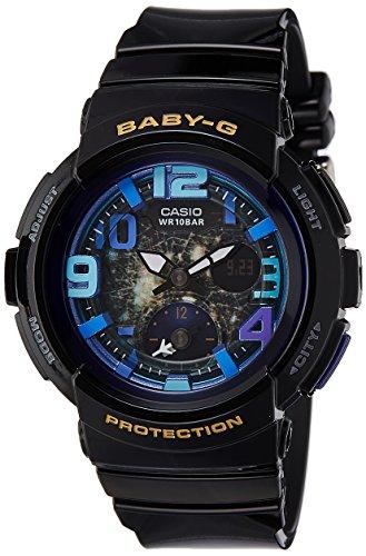 51jWlgJZygL - Baby G Digital Girls BGA 190GL 1BDR watch