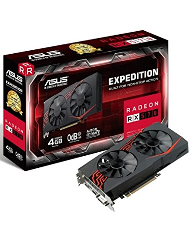 Asus EX-RX570-4G Carte Graphique AMD Radeon RX 570 4096 Mo Bus PCI Express 3.0