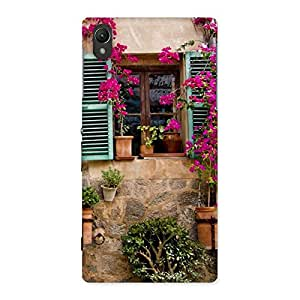 Neo World French Window Design Back Case Cover for Sony Xperia Z1