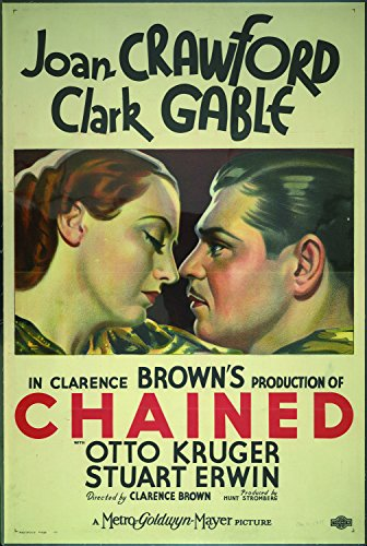 Chained, Joan Crawford & Clark Gable, Otto Kruger, Stuart Erwin, 1934 -...