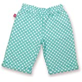 Olive&Moss Pantalon - Betty le Lapin - Turquoise Clair / Blanc - 6-12 months