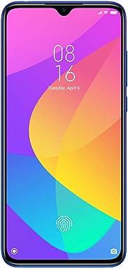 Xiaomi Mi 9 Lite  Smartphone, Dual SIM 128GB, 6GB RAM, 4G LTE, International Version - Aurora Blue